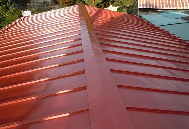屋根塗装工事:施工後