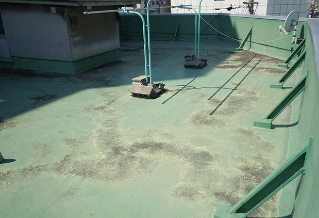 防水工事:施工前