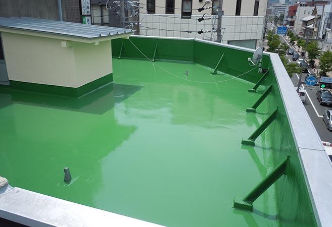 防水工事:施工後